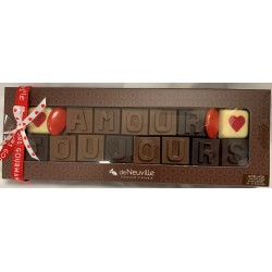 """message chocolat """"Amour Toujours"""""""