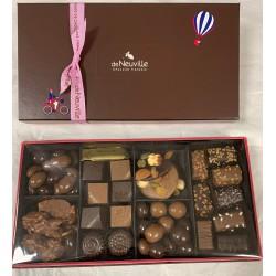 Grand coffret de chocolats Français