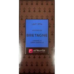 Tablette Chocolat au lait Inspiration BRETAGNE