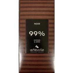 Tablette Chocolat Noir 99%