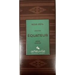 Tablette Chocolat Noir 85% Origine EQUATEUR